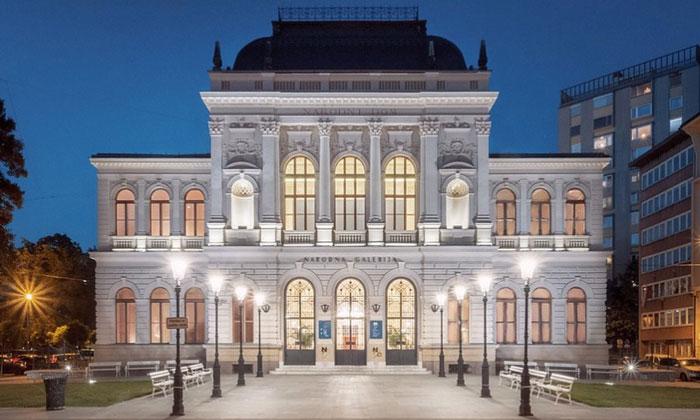 Национальная галерея Словении в Любляне