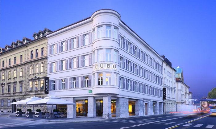 Отель Cubo в Любляне