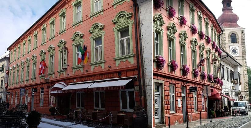 Отель Mitra в городе Птуй