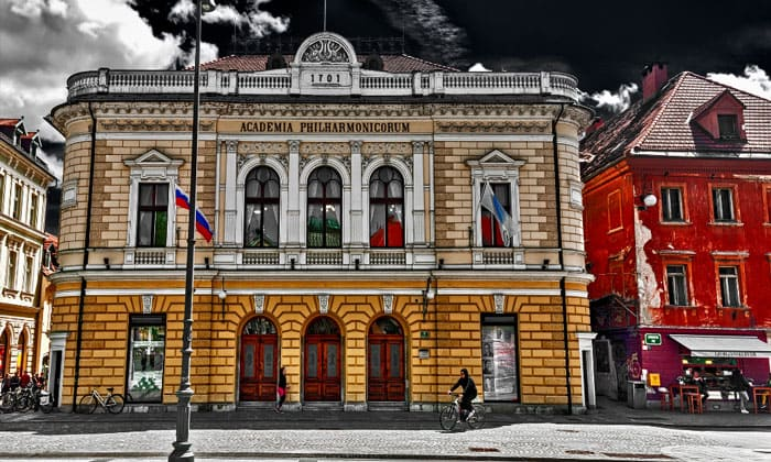 Словенская филармония в Любляне