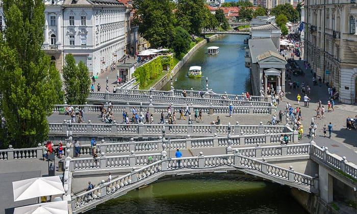 Тройной мост Любляны