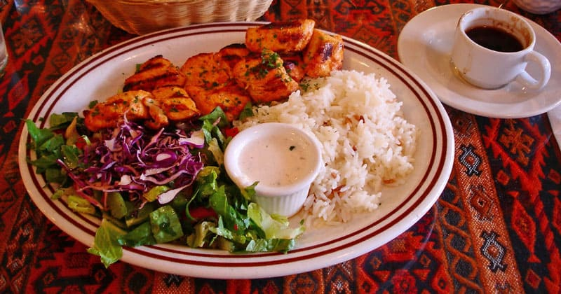 Блюдо турецкой кухни