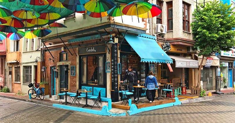 Кафе Cumbali в Стамбуле