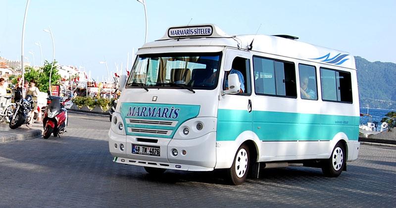 Маршрутные такси (dolmus) Мармариса