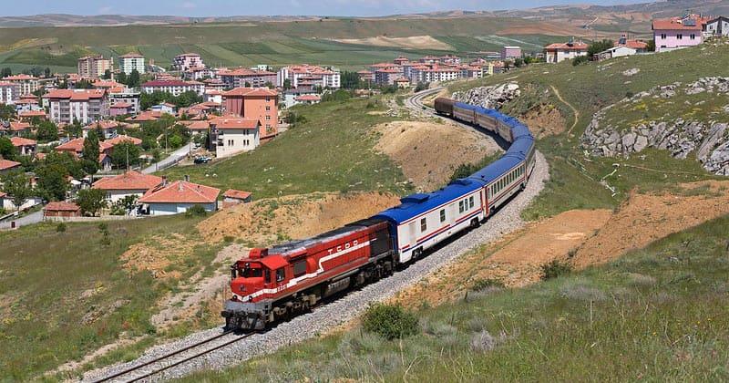 Железная дорога в Турции