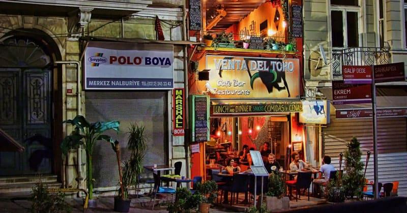 Кафе Venta Del Toro в Стамбуле