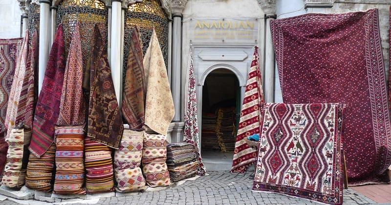 Магазин ковров в Стамбуле