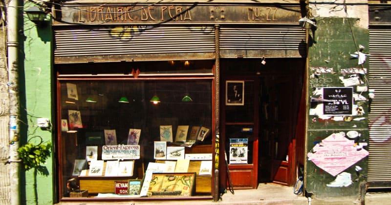 Магазин Librairie de Pera в Стамбуле