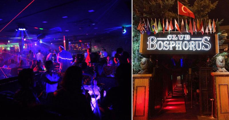 Ночной клуб Bosphorus в Стамбуле