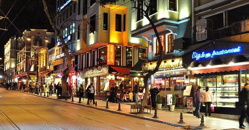 Ночной Султанахмет в Стамбуле