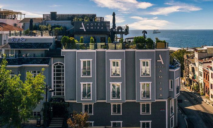 Отель «Amira» в Стамбуле