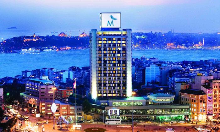 Отель «Marmara Taksim» в Стамбуле