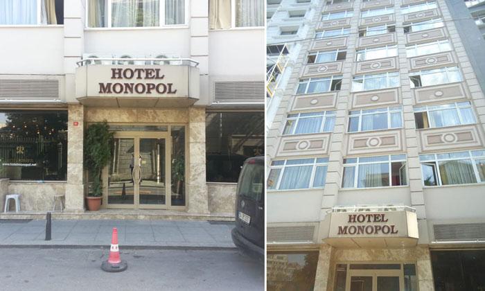 Отель «Monopol» в Стамбуле