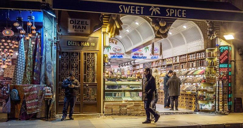 Продуктовый магазин Sweet Spice в Стамбуле