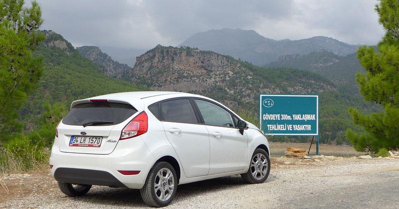 Путешествие на автомобиле по Турции