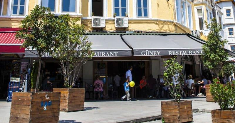 Ресторан Guney в Стамбуле