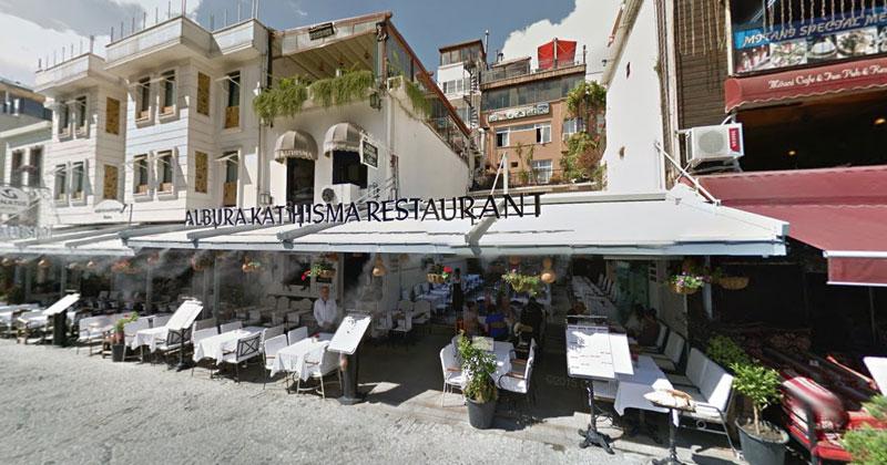 Ресторан Kathisma в Стамбуле