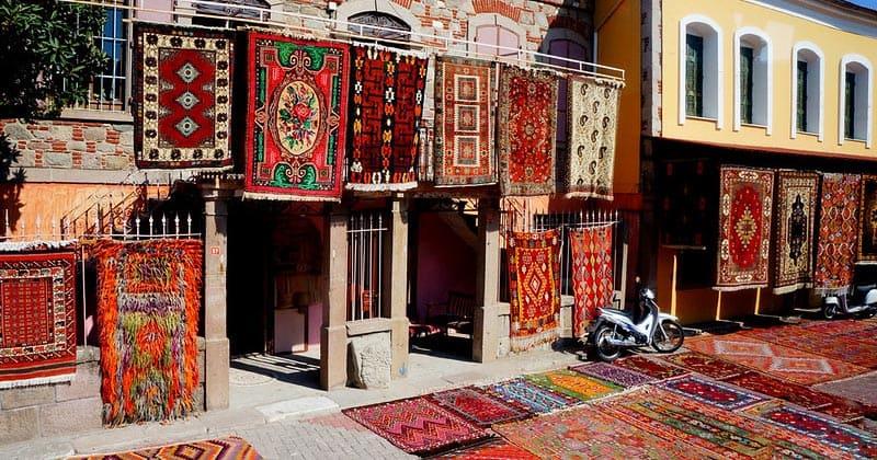 Турецкие ковры в Бергаме