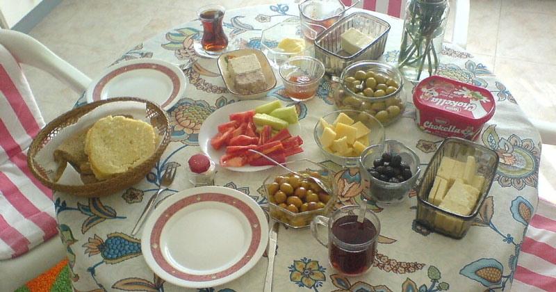 Турецкий завтрак (kahvalti)
