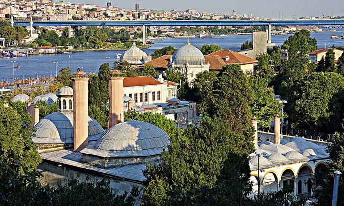 Комплекс мечети Султана Эйюпа в Стамбуле