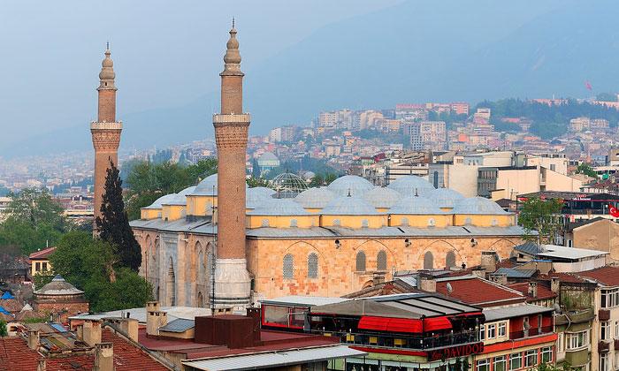 Большая (Улу) мечеть Бурсы