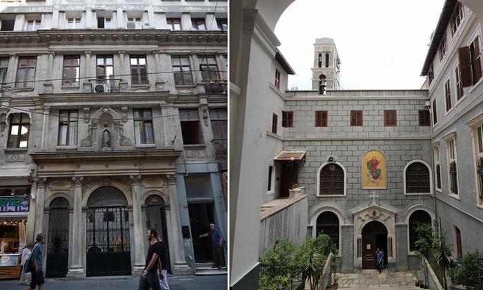 Церковь Марии Драперис в Стамбуле