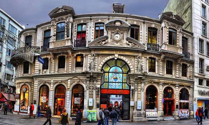 Цветочный пассаж Стамбула