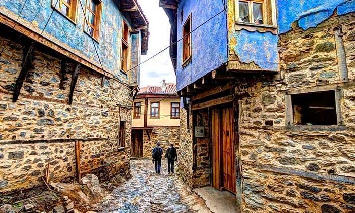 Деревня Джумалыкызык в Турции