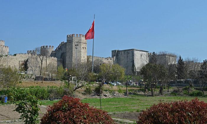 Едикуле и Золотые ворота Константинополя