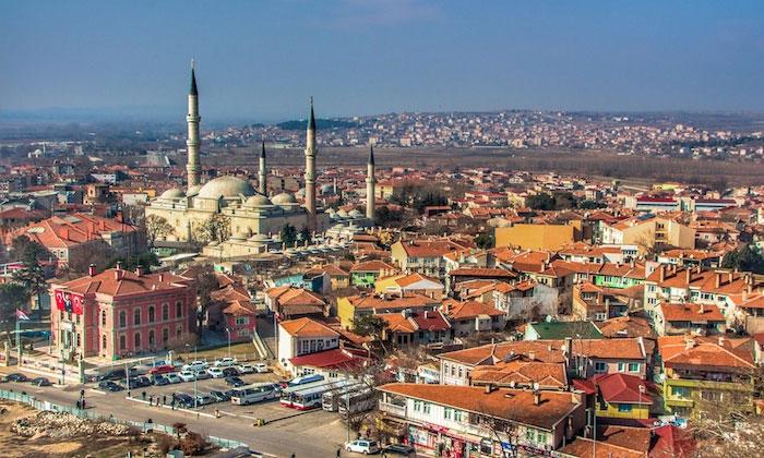 Город Эдирне в Турции