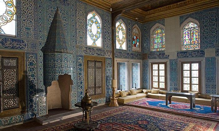 Гостиная султанов в Новой мечети Стамбула