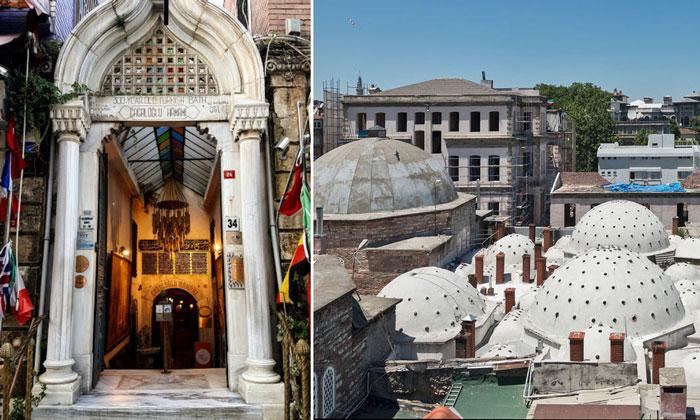 Хаммам Кагалоглу в Стамбуле