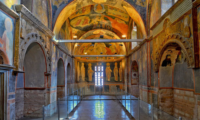 Интерьер музея Карие в Стамбуле