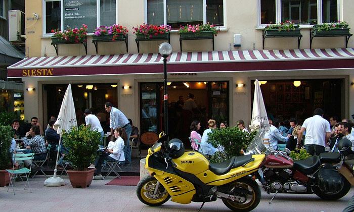 Кафе «Siesta» в Бурсе