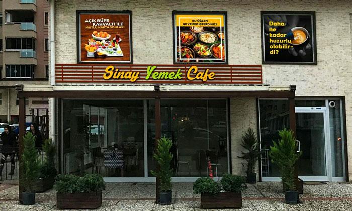 Кафе «Sinay Yemek» в Бурсе