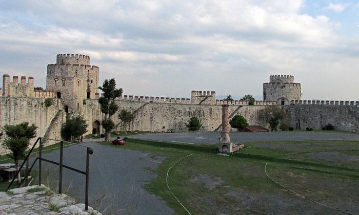 Крепость Едикуле Константинополя