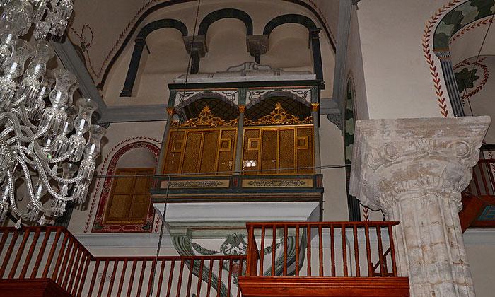 Ложа султана мечети Зейрек в Стамбуле