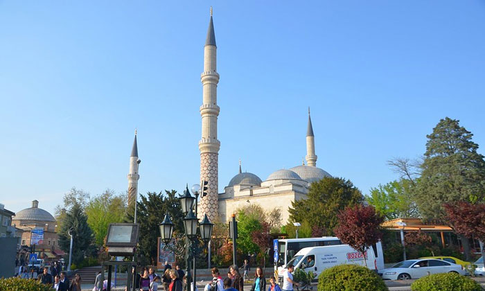 Мечеть Юч-Шерефели в Эдирне