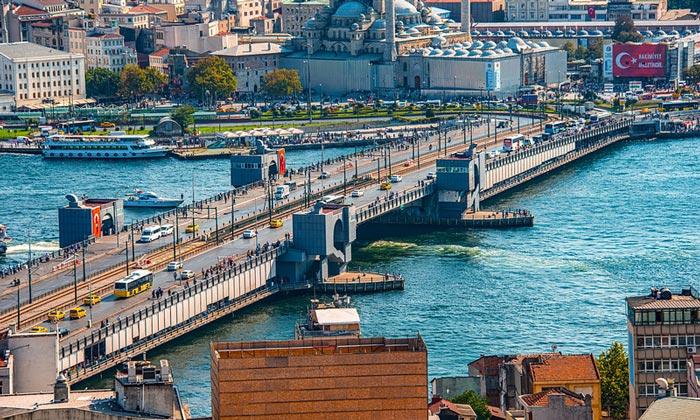 Галатский мост Стамбула