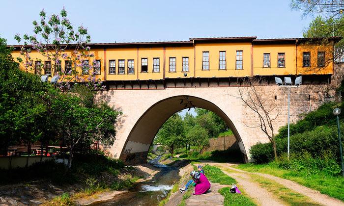 Иргандинский мост в Бурсе