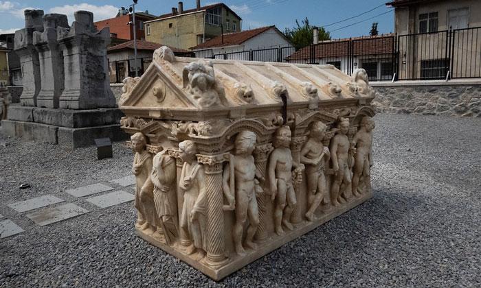 Музейный экспонат Изника