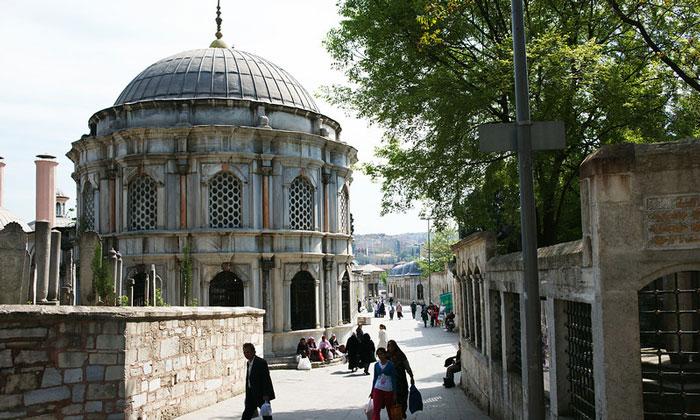 Османская гробница Эйюпа в Стамбуле