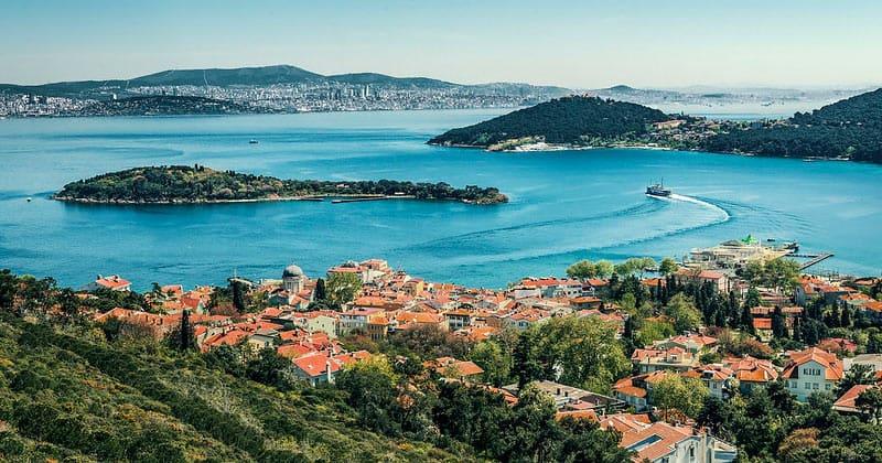 Остров Бургазада в Турции