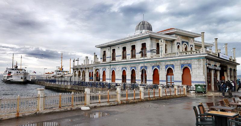 Паромный порт острова Бююкада