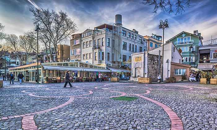 Площадь Ортакёй в Стамбуле