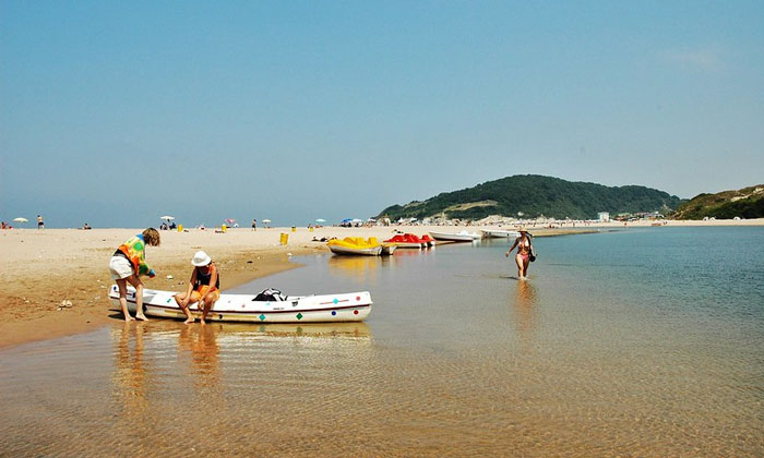 Пляж Агвы в Турции