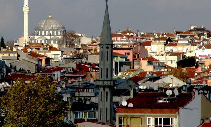 Район Аксарай в Стамбуле