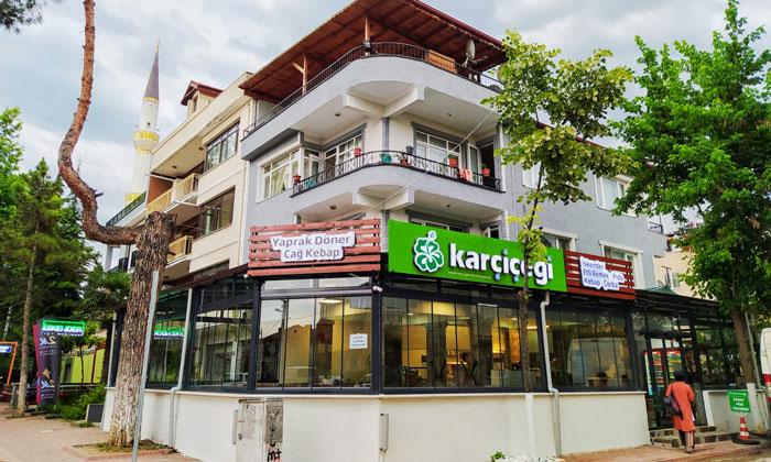 Ресторан «Karcicegi» в Изнике