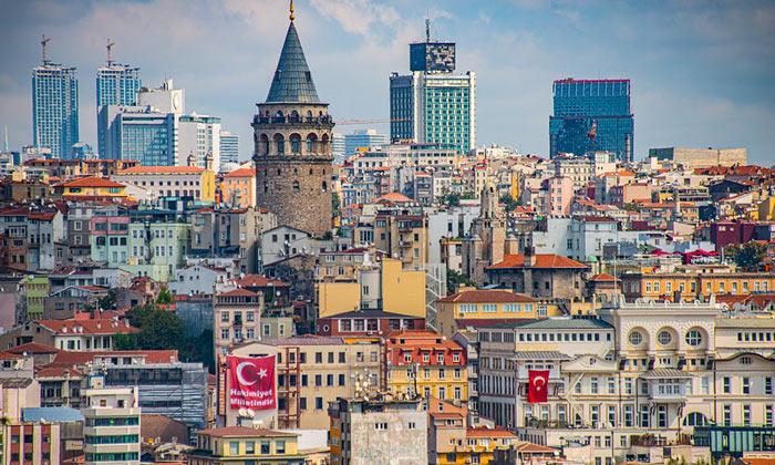Район Каракёй (Галата) в Стамбуле