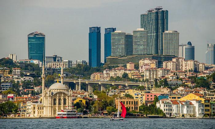 Современный Ортакёй в Стамбуле